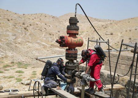 صرفه جویی ۱۷۰ میلیارد ریالی با ایمنسازی چاه گازی ۲۹۸ مسجدسلیمان