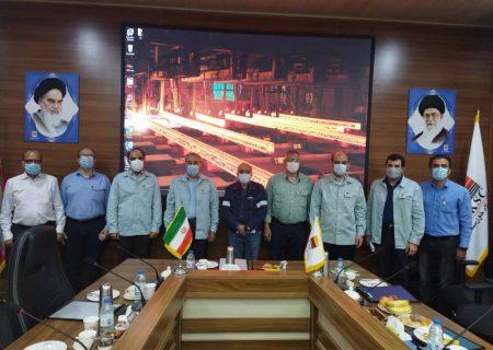 اجرای طرح عظیم ماشین ریخته گری اسلب عریض در فولاد خوزستان عملیاتی شد