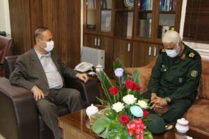 مدیر کل بنیاد حفظ آثار و نشر ارزشهای دفاع مقدس استان با استاندار خوزستان دیدار کرد