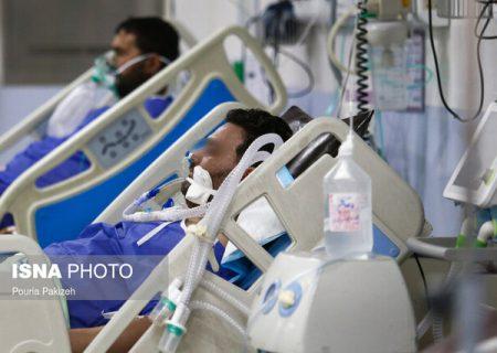 نصب چادر در بیمارستان طالقانی آبادان برای بستری بیماران کرونا