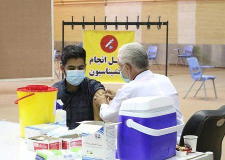 تعداد پایگاههای تجمیعی واکسیناسیون کرونا در اهواز به عدد۲۲ رسید