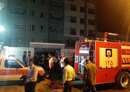انفجار گاز شهری در اهواز حادثه ساز شد