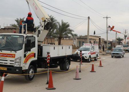 بهرهبرداری از شبکه برق ۲ منطقه در اهواز