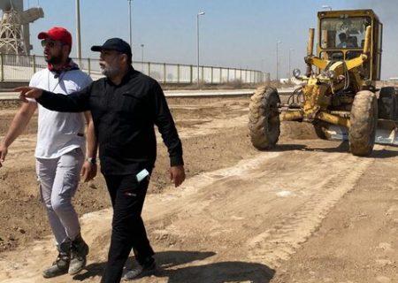 """ساخت اولین پیست اتومبیلرانی """"آفرود"""" در خوزستان"""