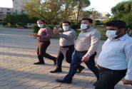 بازدید صبحگاهی مدیر منطقه ۲ شهرداری اهواز از وضعیت پارکهای سطح حوزه