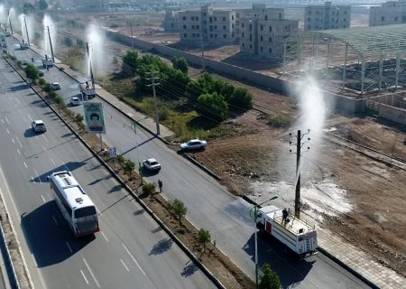 شستشوی ۲۵۰۰کیلومتر شبکه فشارمتوسط برق در کلانشهر اهواز