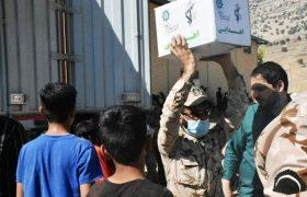 استفاده از ظرفیت خودرویی آمادو پشتیبانی سپاه برای امدادرسانی به اندیکا