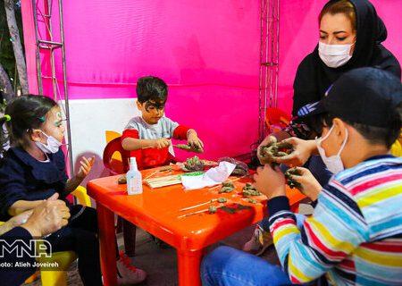 آموزش فرهنگ شهروندی در حاشیه جشن روز جهانی کودک