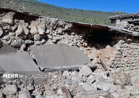 زلزله به ۱۲۰ روستا در اندیکا خسارت وارد کرد